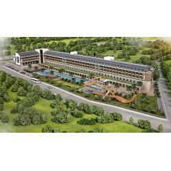 Aydınbey Queen's Palace&Spa Otel'in iklimlendirilmesi, Form Şirketler Grubu iştiraki Form VRF Sistemleri firması tarafından Mitsubishi Heavy Industries VRF klima sistemleri ile sağlanıyor