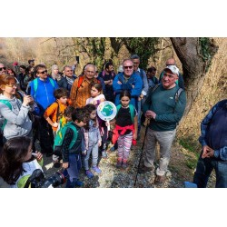 Wilo Türkiye Genel Müdürü Ercüment Yalçın (sağ başta) ve yürüyüşe katılanlar