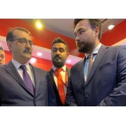 Danfoss standını Enerji ve Tabii Kaynaklar Bakanı Fatih Dönmez ziyaret ederek bilgi aldı