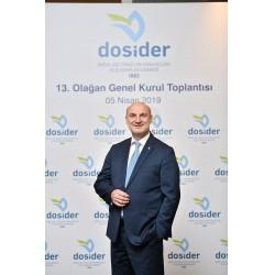 Ömer Cihad Vardan dördüncü kez DOSİDER Yönetim Kurulu Başkanı oldu