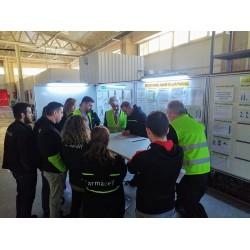 Armacell EMEA Bölge Başkanı Guillerme Huguen ve EMEA Kontrolling Müdürü David Lafleur'un Fabrika ziyareti.