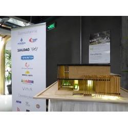 """""""Solar Decathlon Team Bosphorus"""" projesi kapsamında gerçekleştirilen ReYard Evi projesi, İnovasyon Haftası etkinliğinde bir stand ile tanıtıldı"""
