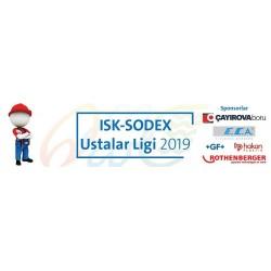 ISK-SODEX Ustalar Ligi 2019 Yarışması Sponsorları