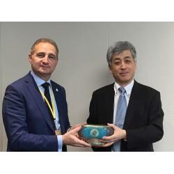 Form Şirketler Grubu Yürütme Kurulu Başkanı Tunç Korun ve MHI Termal Başkanı Kaoru Kusumoto