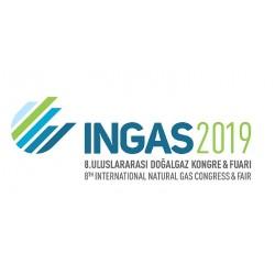 8. Uluslararası Doğalgaz Kongre & Fuarı INGAS 2019