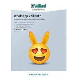 Vaillant Türkiye, müşterileri ile 7 gün 24 saat WhatsApp'da