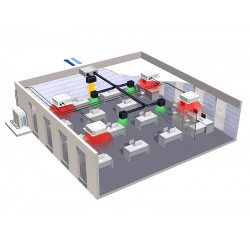 VAM-J ofis, mağaza ve restoran gibi ticari kullanım alanları için mükemmel bir çözüm