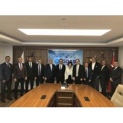 DOSİDER Yönetim Kurulu ve İGDAŞ Genel Müdürü Dr. Mithat Bülent Özmen