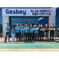 Gesbey kendi sektöründe Türkiye'nin ilk Ar-Ge Merkezi'ni hayata geçirdi