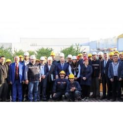 MİMSAN Fabrikasına Bakan Mustafa Varank'ın ziyareti