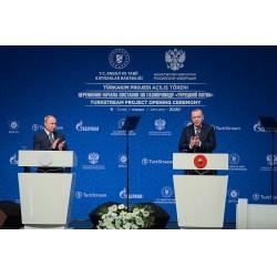 TürkAkım Doğalgaz Boru Hattı'nın Açılış Töreni İstanbul'da gerçekleşti