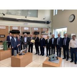 Çukurova Isı'nın Gebze'de ki fabrikasında sektör temsilcileri