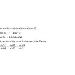 İlk trigonometrik özdeşlikler