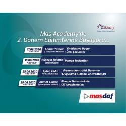 Masdaf, Mas Academy 2. Dönem Eğitimleri