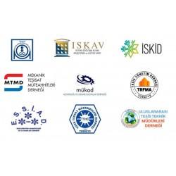 Dokuz uzman kuruluş ve  Türk Tabipleri Birliği üyesi tabiplerin katılımı ile oluşturulan Makine Mühendisleri Odası İklimlendirme Teknik Kurulu