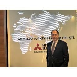 AG MELCO'nun Genel Müdür Yardımcısı Hüseyin Avni Bezmez