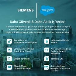 Siemens ve Salesforce, işyerlerinin güvenliği için iş birliği yapıyor