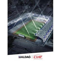 Alsancak Stadı 15.000 kişi kapasiteye sahip