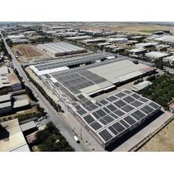 GTC, yangın riskini ortadan kaldıran güneş panelleri üretimiyle öne çıktı