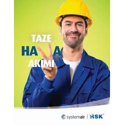 """Systemair HSK, """"Taze Hava Akımı"""" isimli bir kampanya başlattı"""