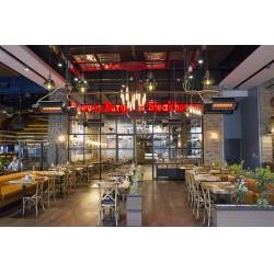 Kafe ve Restoranlarda Radyant Isıtıcılar için ücretsiz montaj