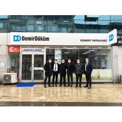 DemirDöküm, Düzce merkezde faaliyet gösteren yetkili satıcısı Özmert Doğalgaz'a ziyaret düzenledi