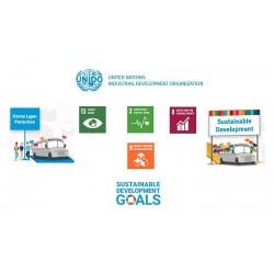 """UNIDO'nun interaktif flipbook yayını """"Montreal Protokolü ve Ötesi"""""""