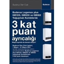 Buderus Star Club, 1-31 Mayıs tarihleri arasında gerçekleştirilecek kat puan kampanyası
