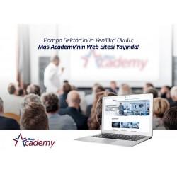 Mas Academy'nin Web Sitesi