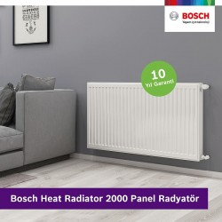 Bosch Termoteknoloji, yeni panel radyatörü Bosch Heat Radiator 2000'i piyasaya sundu