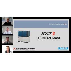 """""""Mitsubishi Heavy Yeni Nesil KXZ2 Heat Pump VRF Sistemleri Lansmanı"""" Webinarı"""