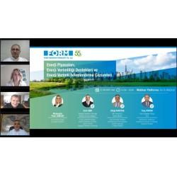 """""""Enerji Piyasaları, Enerji Verimliliği Destekleri ve Enerji Verimli İklimlendirme Çözümleri"""" Webinarı"""