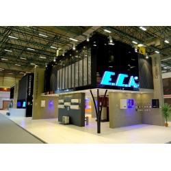 E.C.A.'nın yeni ürünü elektrikli kombi de fuarın en dikkat çeken ürünü oldu
