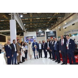 ISK-Sodex İstanbul 2021 Fuarı ilk gününde BVN standı, Basın Mensupları ile