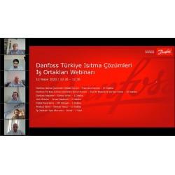 Danfoss, geçtiğimiz günlerde online toplantılarla iş ortaklarıyla bir araya geldi.