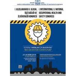 I. Uluslararası, X. Ulusal İşçi Sağlığı ve İş Güvenliği Kongresi, 23–26 Ekim 2019